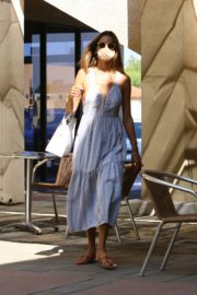 Alessandra Ambrosio at a Skin Care Clinic in Los Angeles 2020/09/22 1