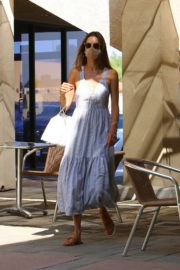 Alessandra Ambrosio at a Skin Care Clinic in Los Angeles 2020/09/22 6