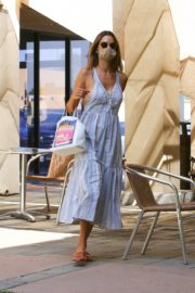 Alessandra Ambrosio at a Skin Care Clinic in Los Angeles 2020/09/22 8