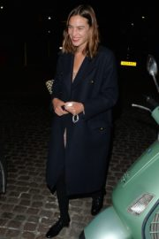 ALEXA CHUNG Leaves Chiltern Firehouse in London 09/17/2020 1