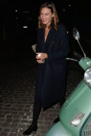 ALEXA CHUNG Leaves Chiltern Firehouse in London 09/17/2020 3
