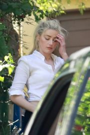 Amber Heard Out Driving in Los Angeles 2020/09/22 4