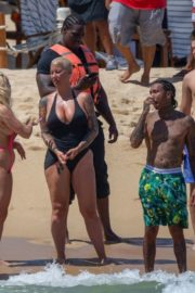 Amber Rose at Jet Ski Ride in Cabo San Lucas 2020/09/24 3
