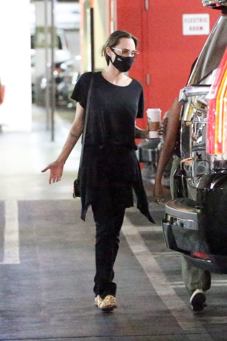 Angelina Jolie Out Shopping in West Hollywood 2020/09/19 4