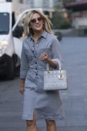 Ashley Roberts Arrives at Global Radio in London 2020/09/22 1