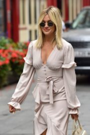 Ashley Roberts Leaves Heart Radio in London 2020/09/21 14