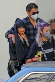 Bebe Rexha and Doja Cat on the Set of Baby I'm Jealous Music Video in Los Angeles 2020/09/23 19