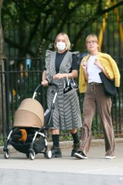 Chloe Sevigny Out with her Baby and Friend in New York 2020/09/22 1