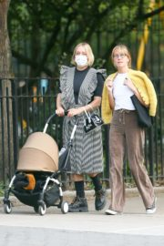 Chloe Sevigny Out with her Baby and Friend in New York 2020/09/22 6