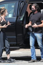 Denise Richards and Aaron Phypers Out in Malibu 2020/09/23 2