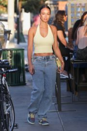 Draya Michele Arrives at a Restaurant in Los Feliz 2020/09/20 10