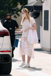 Elle Fanning Out Shopping in Los Angeles 2020/09/18 2