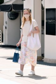 Elle Fanning Out Shopping in Los Angeles 2020/09/18 4