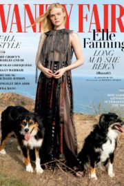 Elle Fanning Poses in Vanity Fair Magazine, October 2020 Issue 9