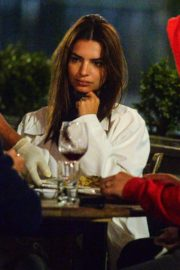 EMILY RATAJKOWSKI Out for Dinner at Il Buco in New York 2020/09/22 1