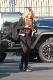 Emma Slater Arrives at DWTS Rehearsal in Los Angeles 2020/09/18 1