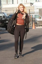Emma Slater Arrives at DWTS Rehearsal in Los Angeles 2020/09/18 4