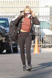 Emma Slater Arrives at DWTS Rehearsal in Los Angeles 2020/09/18 6