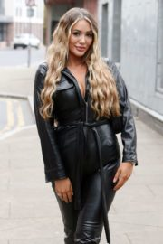 Frankie Sims on the Set of TOWIE in Essex 2020/09/21 9