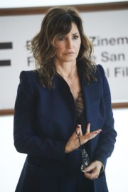 Gina Gershon at Rifkin's Festival Photocall at 68th San Sebastian Film Festival 2020/09/18 5