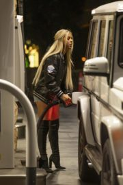 Kaylyn Slevin at a Gas Station in Calabasas 2020/09/15 3