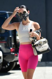 Lucy Hale Arrives at a Gym in Studio City 2020/09/20 10