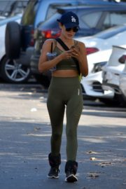 Lucy Hale Out for Morning Hike in Studio City 2020/09/21 1