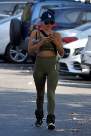 Lucy Hale Out for Morning Hike in Studio City 2020/09/21 2