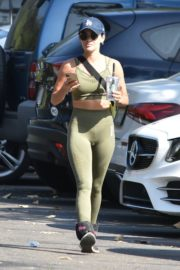 Lucy Hale Out for Morning Hike in Studio City 2020/09/21 4