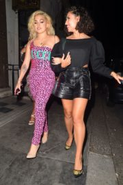 Mabel and Raye Night Out in London 2020/09/18 2