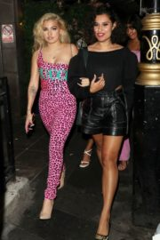 Mabel and Raye Night Out in London 2020/09/18 4