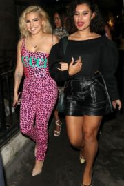 Mabel and Raye Night Out in London 2020/09/18 5