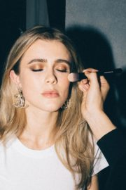 Melissa Roxburgh for We Love Coco Chanel Makeup 2020 Photoshoot 2