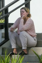 Mischa Barton Outside Her Home in Los Angeles 2020/09/19 7