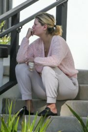 Mischa Barton Outside Her Home in Los Angeles 2020/09/19 10
