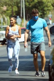 Nicole Scherzinger and Thom Evans Heading to a Gym in Los Angeles 2020/08/26 1