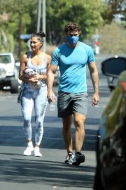 Nicole Scherzinger and Thom Evans Heading to a Gym in Los Angeles 2020/08/26 3