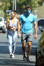 Nicole Scherzinger and Thom Evans Heading to a Gym in Los Angeles 2020/08/26 7