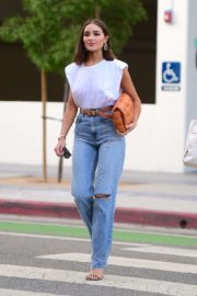 Olivia Culpo Out for Dinner in Santa Monica 2020/09/19 1