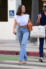 Olivia Culpo Out for Dinner in Santa Monica 2020/09/19 2