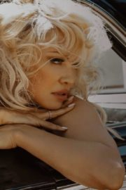 Pamela Anderson at a Photoshoot, 2020 Issue 15