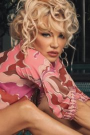 Pamela Anderson at a Photoshoot, 2020 Issue 17