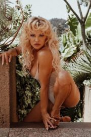 Pamela Anderson at a Photoshoot, 2020 Issue 27