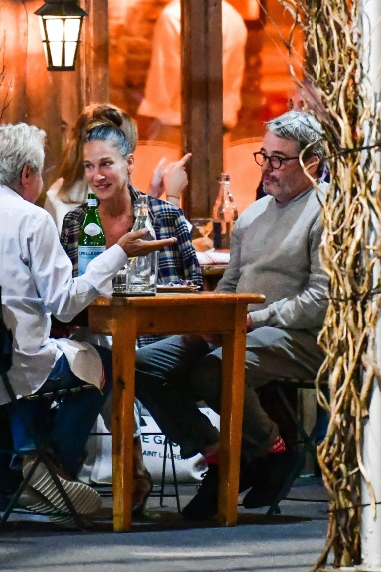 Sarah Jessica Parker and Matthew Broderick Out for Dinner in New York 2020/09/16 6