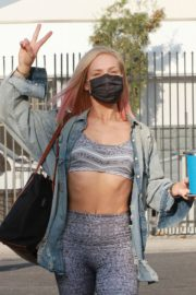 Sharna Burgess Arrives at DWTS Studio in Los Angeles 2020/09/18 5