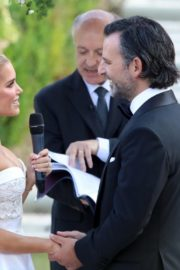 Sylvie Meis and Niclas Castello at Wedding Ceremony in Italy 2020/09/19 1