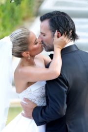 Sylvie Meis and Niclas Castello at Wedding Ceremony in Italy 2020/09/19 4