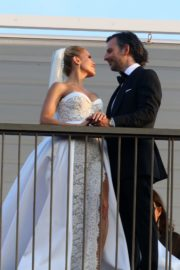 Sylvie Meis and Niclas Castello at Wedding Ceremony in Italy 2020/09/19 9