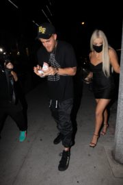 Tana Mongeau and Jake Paul at Alex Warren's Birthday Party in Hollywood 2020/09/18 1