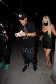 Tana Mongeau and Jake Paul at Alex Warren's Birthday Party in Hollywood 2020/09/18 4